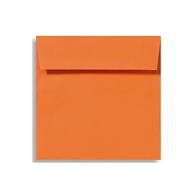 LUX 6 1/2 x 6 1/2 Square Envelopes 50/Box) 50/Box, Mandarin (EX8535-11-50)