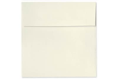 LUX 6 1/2 x 6 1/2 Square Envelopes 1000/Box) 1000/Box, Natural - 100% Recycled (8535-NPC-1000)
