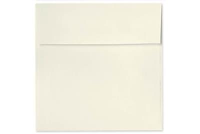 LUX 6 1/2 x 6 1/2 Square Envelopes 50/Box) 50/Box, Natural Linen (8535-NLI-50)