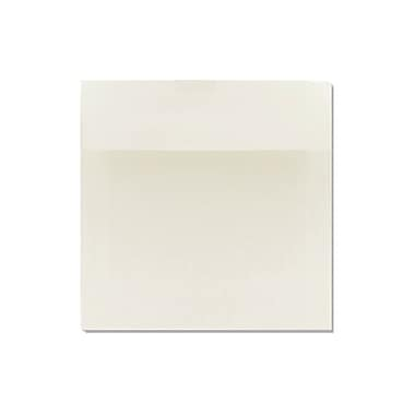 LUX 6 1/2 x 6 1/2 Square 100% Cotton 50/Box, Natural White - 100% Cotton (8535-SN-50)