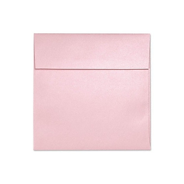 LUX 6 1/2 x 6 1/2 Square Envelopes, Rose Quartz Metallic, 500/Box (8535-04-500)