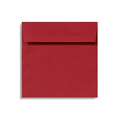 LUX 6 1/2 x 6 1/2 Square Envelopes, Ruby Red, 250/Box (EX8535-18-250)
