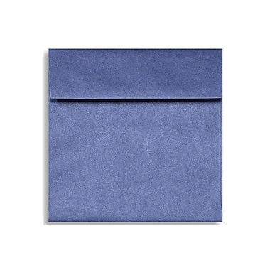 LUX 6 1/2 x 6 1/2 Square Envelopes, Sapphire Metallic, 50/Box (8535-18-50)