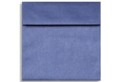 LUX 6 1/2 x 6 1/2 Square Envelopes 500/Box) 500/Box, Sapphire Metallic (8535-18-500)