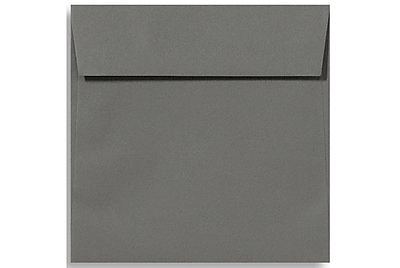 LUX 6 1/2 x 6 1/2 Square Envelopes 1000/Box) 1000/Box, Smoke (EX8535-22-1000)