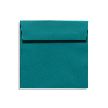 LUX 6 1/2 x 6 1/2 Square Envelopes 1000/Box) 1000/Box, Teal (EX8535-25-1000)