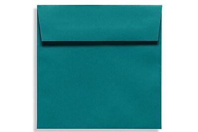 LUX 6 1/2 x 6 1/2 Square Envelopes 50/Box) 50/Box, Teal (EX8535-25-50)