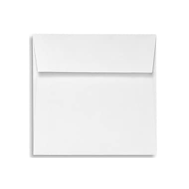 LUX 6 1/2 x 6 1/2 Square Envelopes 50/Box) 50/Box, White - 100% Recycled (8535-WPC-50)