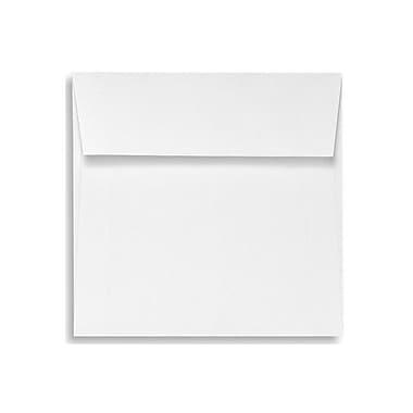 LUX 6 1/2 x 6 1/2 Square Envelopes, White Linen, 50/Box (8535-WLI-50)