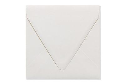 LUX 6 1/2 x 6 1/2 Square Contour Flap Envelopes 50/Box) 50/Box, Natural - 100% Recycled (1855-NPC-50)