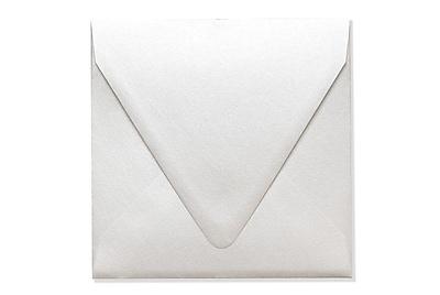 LUX 6 1/2 x 6 1/2 Square Contour Flap Envelopes 500/Box) 500/Box, Quartz Metallic (1855-08-500)
