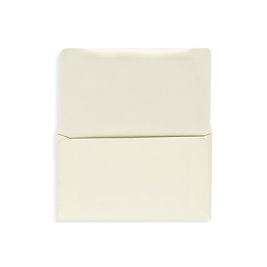 LUX 6 1/4 Remittance Envelopes (3 1/2 x 6 Closed) 500/box, Cream (R249-500)
