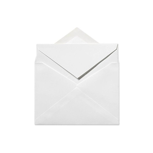 lux 6 x 8 1 4 outer envelopes 50 box 50 box 70lb bright white