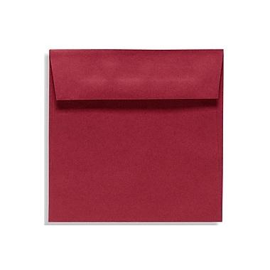 LUX 7 1/2 x 7 1/2 Square Envelopes 250/Box) 250/Box, Garnet (EX8555-26-250)
