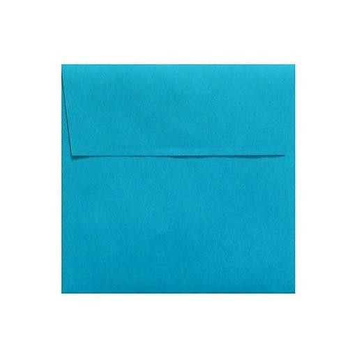 LUX 7 x 7 Square Envelopes 50/Box) 50/Box, Pool (LUX-8545-102-50)