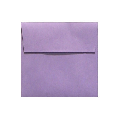 LUX 7 x 7 Square Envelopes 50/Box) 50/Box, Wisteria (LUX-8545-106-50)