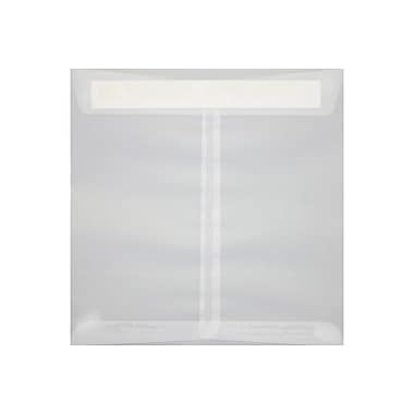 LUX 8 x 8 Square Envelopes 250/Box) 250/Box, Clear Translucent (8565-50-250)