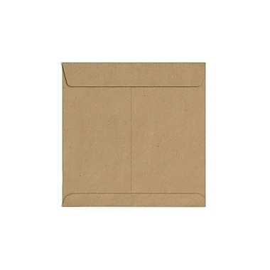 LUX 9 x 9 Square Envelopes 1000/Box) 1000/Box, Grocery Bag (8585-GB-1000)