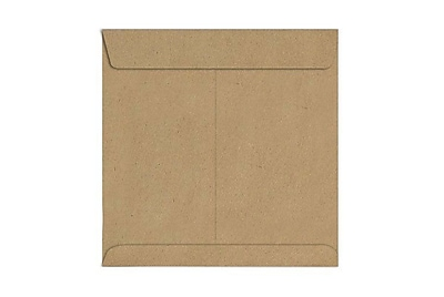 LUX 9 x 9 Square Envelopes 250/Box) 250/Box, Grocery Bag (8585-GB-250)