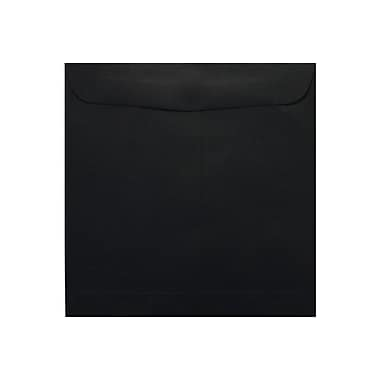 LUX 9 1/2 x 9 1/2 Square Envelopes 500/Box) 1000/Box, Midnight Black (F-8595-B-1000)