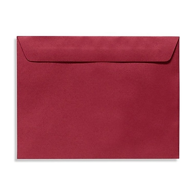 LUX 9 x 12 Booklet Envelopes 50/Box, Garnet (EX4899-26-50)