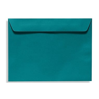 LUX 9 x 12 Booklet Envelopes 50/Box, Teal (EX4899-25-50)