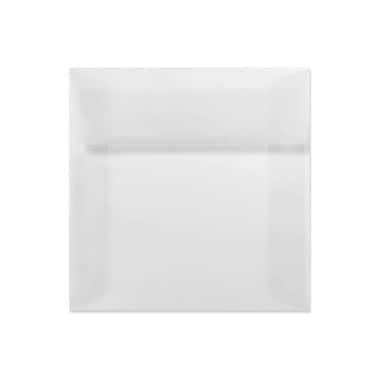 LUX 9 x 9 Square Envelopes 50/Box) 50/Box, Clear Translucent (8585-50-50)