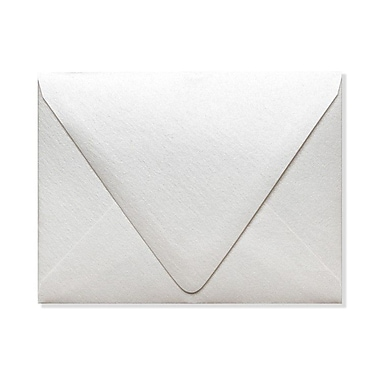 LUX A1 Contour Flap Envelopes (3 5/8 x 5 1/8) 50/Box, Quartz Metallic (1865-08-50)