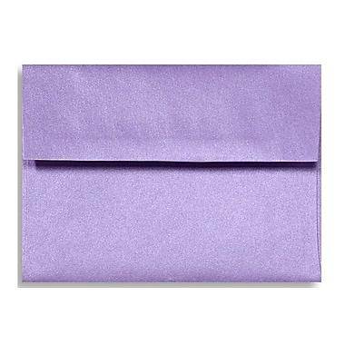 LUX A1 Invitation Envelopes (3 5/8 x 5 1/8) 50/Box, Amethyst Metallic (5365-17-50)