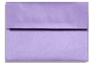 LUX A1 Invitation Envelopes (3 5/8 x 5 1/8) 500/Box, Amethyst Metallic (5365-17-500)