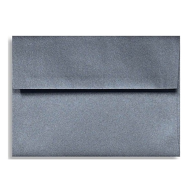 LUX A1 Invitation Envelopes (3 5/8 x 5 1/8) 50/Box, Anthracite Metallic (5365-15-50)