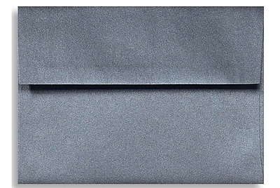 LUX A1 Invitation Envelopes (3 5/8 x 5 1/8) 500/Box, Anthracite Metallic (5365-15-500)