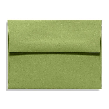 LUX A1 Invitation Envelopes (3 5/8 x 5 1/8) 50/Box, Avocado (EX4865-27-50)