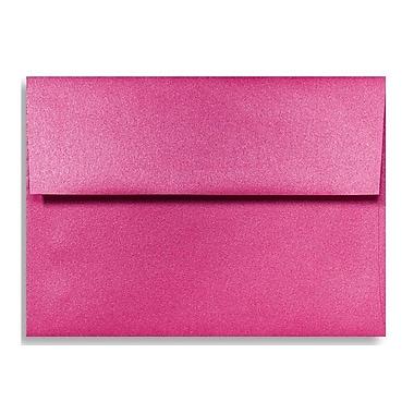 LUX A1 Invitation Envelopes (3 5/8 x 5 1/8) 250/Box, Azalea Metallic (5365-24-250)