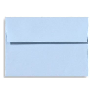 LUX A1 Invitation Envelopes (3 5/8 x 5 1/8), Baby Blue, 50/Box (EX4865-13-50)