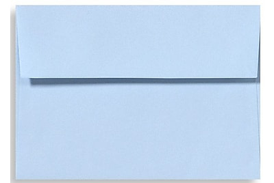 LUX A1 Invitation Envelopes (3 5/8 x 5 1/8) 1000/Box, Baby Blue (EX4865-13-1000)