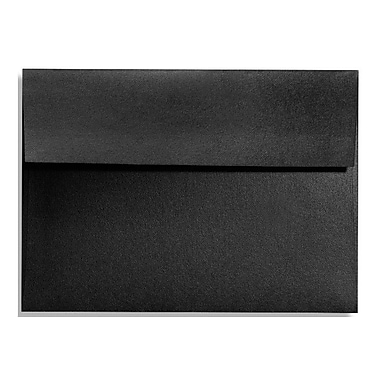LUX A1 Invitation Envelopes (3 5/8 x 5 1/8) 50/Box, Black Satin (FA4865-01-50)