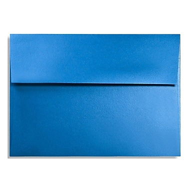 LUX A1 Invitation Envelopes (3 5/8 x 5 1/8) 50/Box, Boutique Blue (FA4865-02-50)
