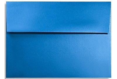LUX A1 Invitation Envelopes (3 5/8 x 5 1/8) 50/Box, Boutique Blue (FA4865-02-50)