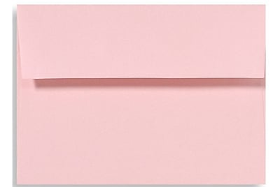 LUX A1 Invitation Envelopes (3 5/8 x 5 1/8) 500/Box, Candy Pink (EX4865-14-500)