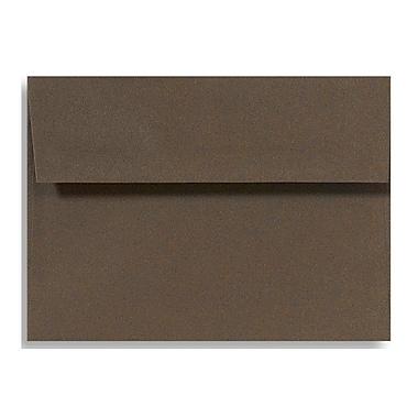 LUX A1 Invitation Envelopes (3 5/8 x 5 1/8) 50/Box, Chocolate (EX4865-17-50)