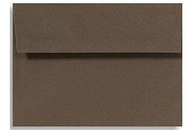 LUX A1 Invitation Envelopes (3 5/8 x 5 1/8) 500/Box, Chocolate (EX4865-17-500)