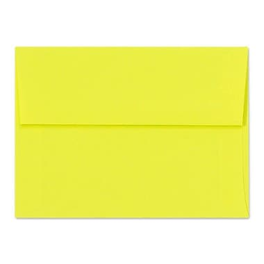 LUX A1 Invitation Envelopes (3 5/8 x 5 1/8) 250/Box, Citrus (FE4265-20-250)