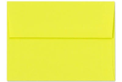 LUX A1 Invitation Envelopes (3 5/8 x 5 1/8) 50/Box, Citrus (FE4265-20-50)