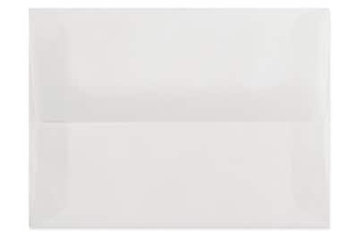 LUX A2 (4 3/8 x 5 3/4) 1000/Box, Clear Translucent (4870-00-1000)
