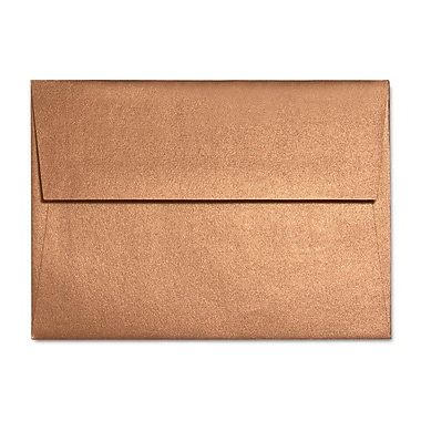 LUX A6 Invitation Envelopes (4 3/4 x 6 1/2) 50/Box, Copper Metallic (5375-11-50)