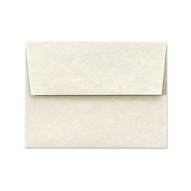 LUX A1 Invitation Envelopes (3 5/8 x 5 1/8) 50/Box, Cream Parchment (6665-11-50)