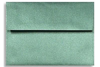 LUX A1 Invitation Envelopes (3 5/8 x 5 1/8) 1000/Box, Emerald Metallic (5365-14-1000)