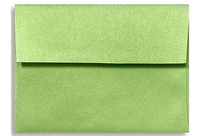 LUX A1 Invitation Envelopes (3 5/8 x 5 1/8) 250/Box, Fairway Metallic (5365-25-250)