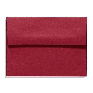 LUX A1 Invitation Envelopes (3 5/8 x 5 1/8) 500/Box, Garnet (EX4865-26-500)
